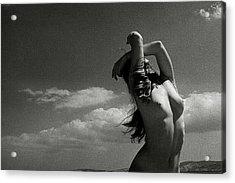Black And White Nude 018 Acrylic Print