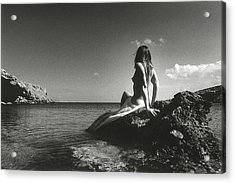 Black And White Nude 020 Acrylic Print