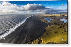 Acrylic Print featuring the photograph Black Beach by James Billings