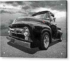 Black Beauty - 1956 Ford F100 Acrylic Print