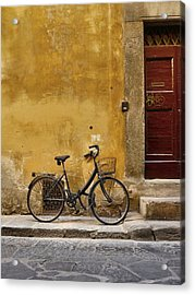 Black Bike Acrylic Print
