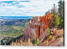 Acrylic Print featuring the photograph Black Birch Canyon by John M Bailey