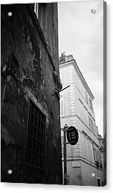 Black Building, White Building Acrylic Print