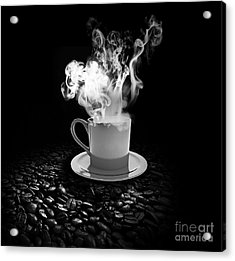 Black Coffee Acrylic Print
