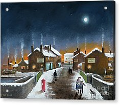 Black Country Winter Acrylic Print