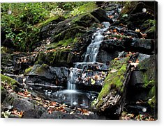 Black Creek Falls In Autumn, 2016 Acrylic Print by Jeff Severson