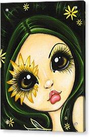 Black-eyed Susan Acrylic Print by Elaina  Wagner