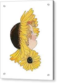 Black-eyed Susan Acrylic Print