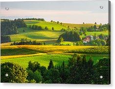 Black Forest Landscape Acrylic Print
