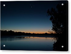 Acrylic Print featuring the photograph Black Friday Conjunction by Odille Esmonde-Morgan