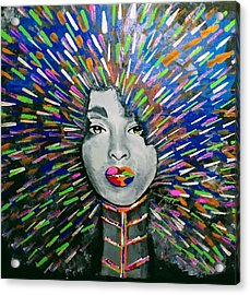 Black Girl Magic Acrylic Print