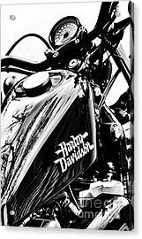 Black Harley Acrylic Print