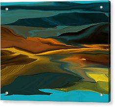 Black Hills Abstract Acrylic Print
