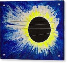 Black Hole Blues Acrylic Print
