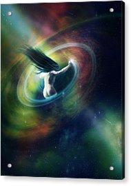Black Hole Acrylic Print by Mary Hood