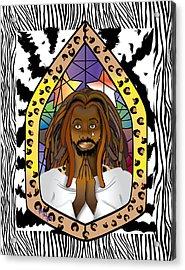 Black J C Acrylic Print
