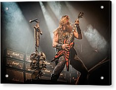 Black Label Society II Acrylic Print