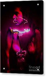 Black Light Passion Acrylic Print by Clayton Bruster