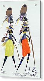 Black Models Acrylic Print