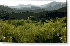Black Mountains Acrylic Print by John Scariano