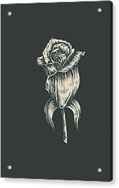 Black On Black Acrylic Print