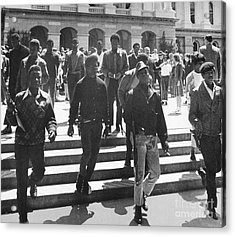 Black Panthers, 1967 Acrylic Print by Granger