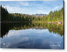 Black Pond - Lincoln, New Hampshire Acrylic Print