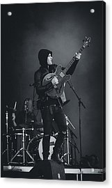 Black Rebel Motorcycle Club Playing Live Acrylic Print by Marco Oliveira