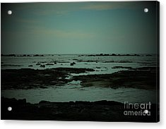 Black Rock Beach Acrylic Print
