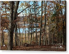 Black Rock Flats From The Mary Ann Acrylic Print
