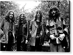 Acrylic Print featuring the photograph Black Sabbath 1970 #3 by Chris Walter