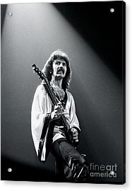 Black Sabbath 1978 Tony Iommi Acrylic Print by Chris Walter