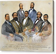 Black Senators, 1872 Acrylic Print