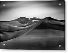 Acrylic Print featuring the photograph Black Silk by Alexander Kunz
