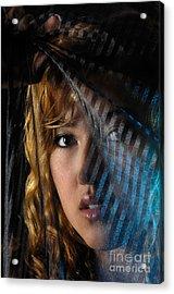 Black Veil Acrylic Print by Oleksiy Maksymenko