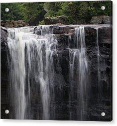 Black Water Falls Wv Acrylic Print by Jean Haynes