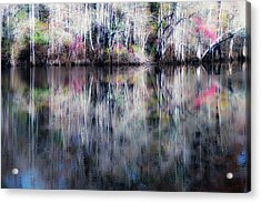 Black Water Fantasy Acrylic Print