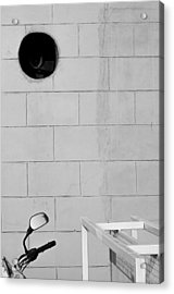 Acrylic Print featuring the photograph Black White Grey by Prakash Ghai
