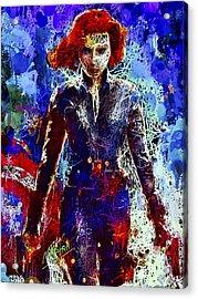 Black Widow Acrylic Print