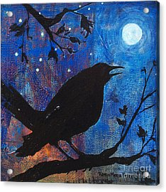 Blackbird Singing Acrylic Print