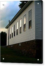 Blackburn Church Sunset Acrylic Print