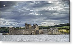 Blackness Castle Acrylic Print by Jeremy Lavender Photography