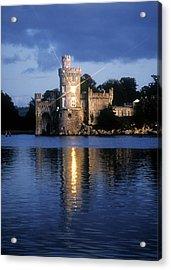 Blackrock Castle, River Lee, Near Cork Acrylic Print by The Irish Image Collection