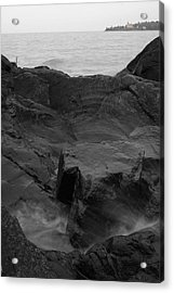 Acrylic Print featuring the photograph Blackrock Lighthouse by Dylan Punke