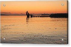 Blackrock Sunset Acrylic Print