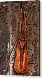 Blacksmith Apron Acrylic Print