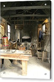 Blacksmith Acrylic Print by Kim Zwick