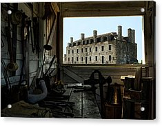 Blacksmith Shed Acrylic Print