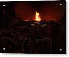 Blacksmith Shop Acrylic Print by Chris Flees