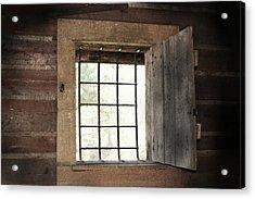Blacksmith's View Acrylic Print by Kim Henderson